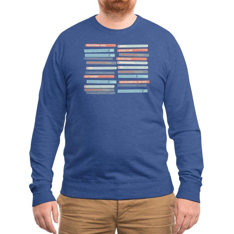 Music Snob Men's Sweatshirt by Spencer Fruhling's Artist Shop