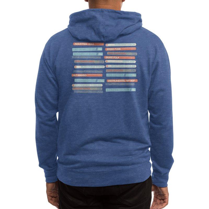 Music Snob Men's Zip-Up Hoody by Spencer Fruhling's Artist Shop