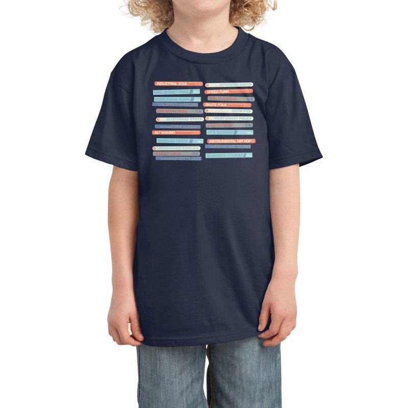 Music Snob Kids T-Shirt by Spencer Fruhling's Artist Shop