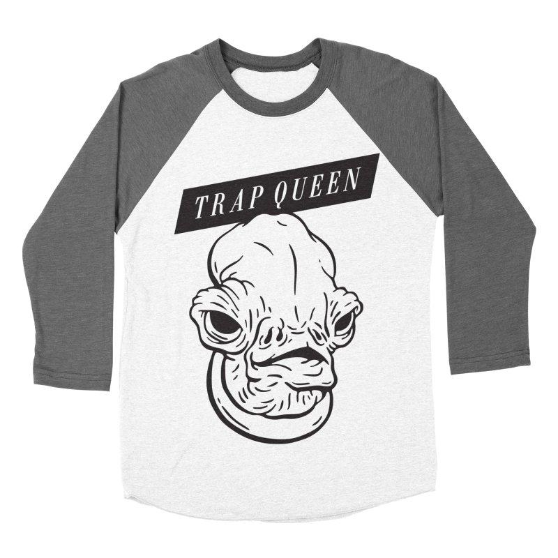Trap Queen Men's Baseball Triblend T-Shirt by Spencer Fruhling's Artist Shop