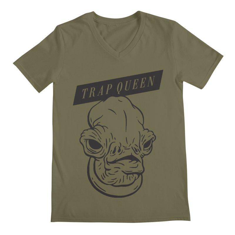 Trap Queen Men's V-Neck by Spencer Fruhling's Artist Shop