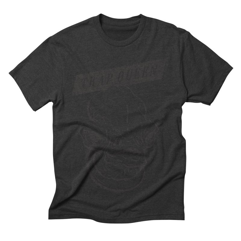 Trap Queen Men's Triblend T-shirt by Spencer Fruhling's Artist Shop