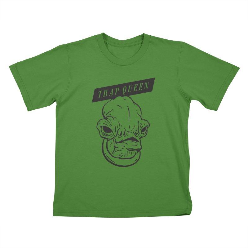 Trap Queen Kids T-shirt by Spencer Fruhling's Artist Shop