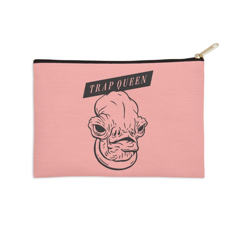 Trap Queen Accessories Zip Pouch by Spencer Fruhling's Artist Shop