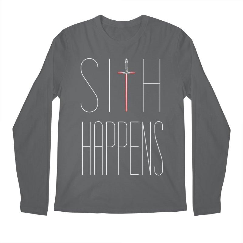 Sith Happens Men's Longsleeve T-Shirt by Spencer Fruhling's Artist Shop
