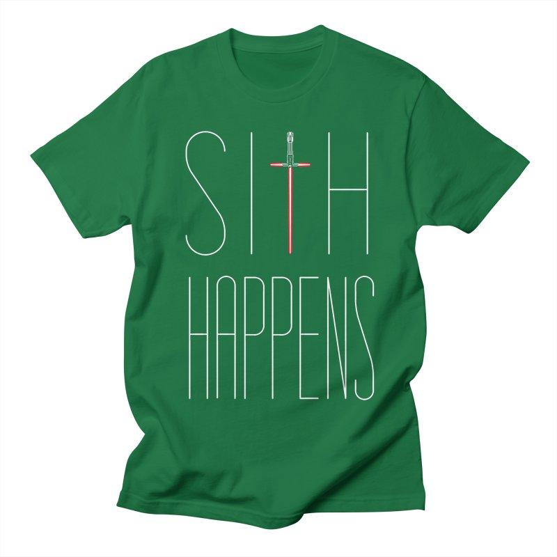 Sith Happens Men's T-shirt by Spencer Fruhling's Artist Shop