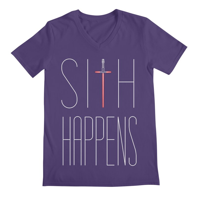 Sith Happens Men's V-Neck by Spencer Fruhling's Artist Shop