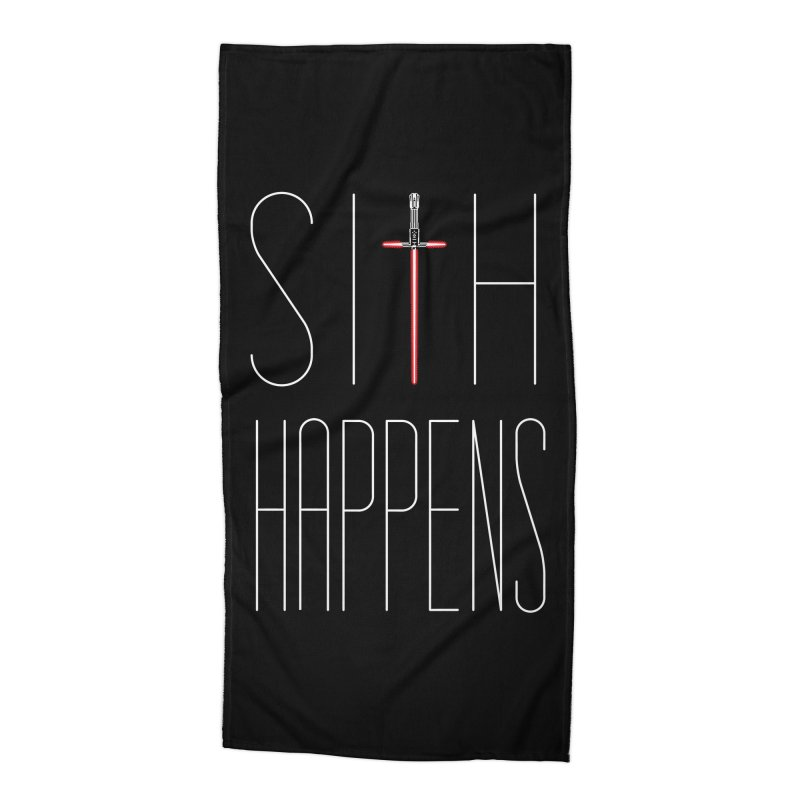 Sith Happens Accessories Beach Towel by Spencer Fruhling's Artist Shop