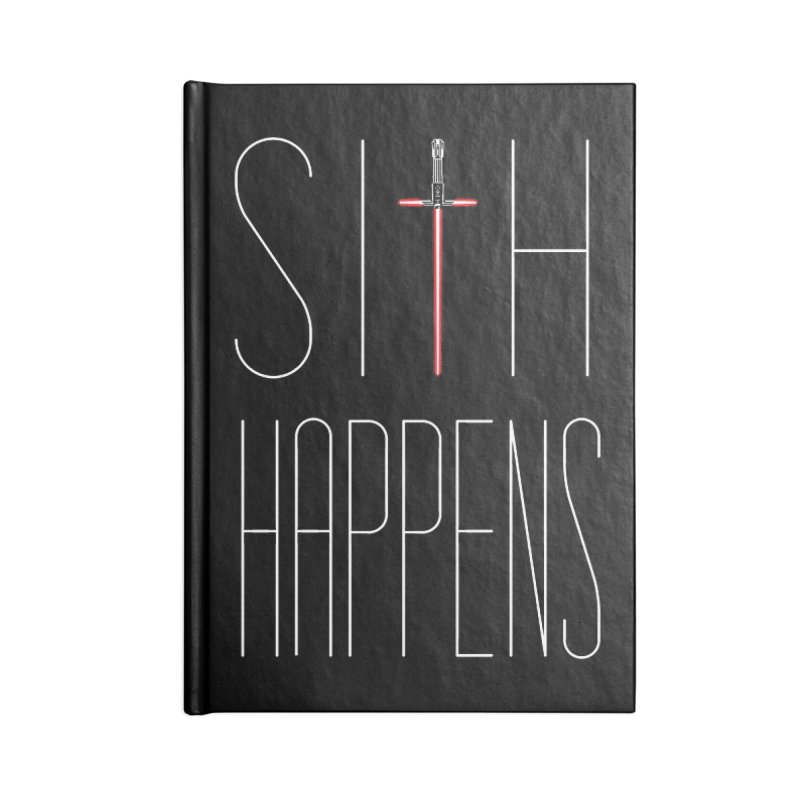 Sith Happens Accessories Notebook by Spencer Fruhling's Artist Shop