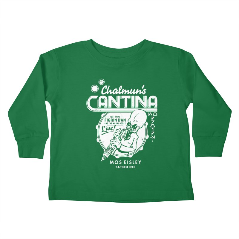 Chalmun's Cantina Kids Toddler Longsleeve T-Shirt by Spencer Fruhling's Artist Shop