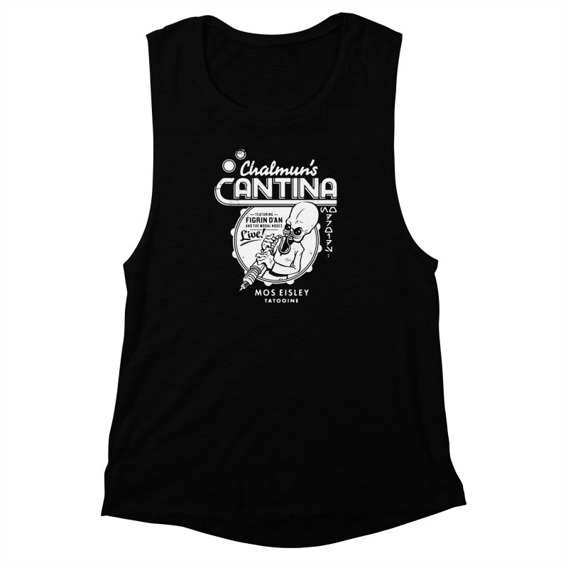 Chalmun's Cantina Women's Muscle Tank by Spencer Fruhling's Artist Shop