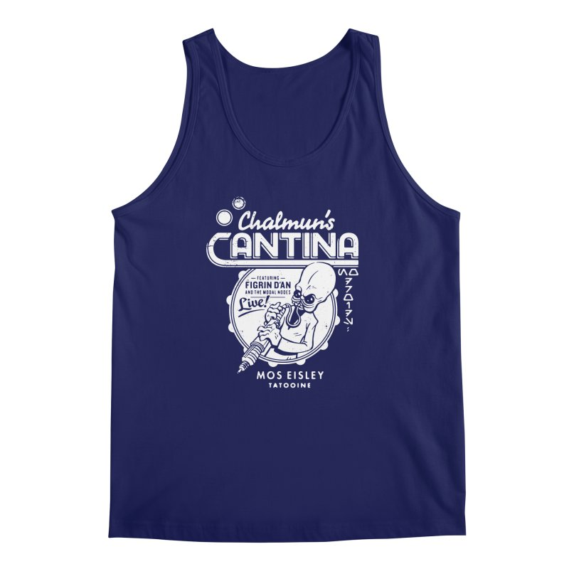 Chalmun's Cantina Men's Tank by Spencer Fruhling's Artist Shop