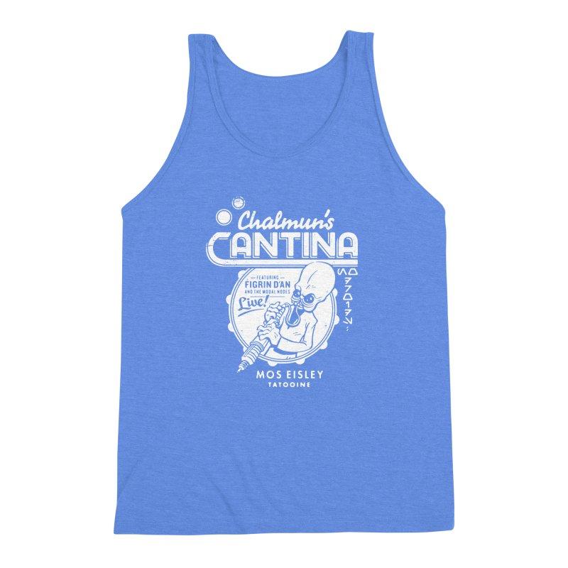 Chalmun's Cantina Men's Triblend Tank by Spencer Fruhling's Artist Shop