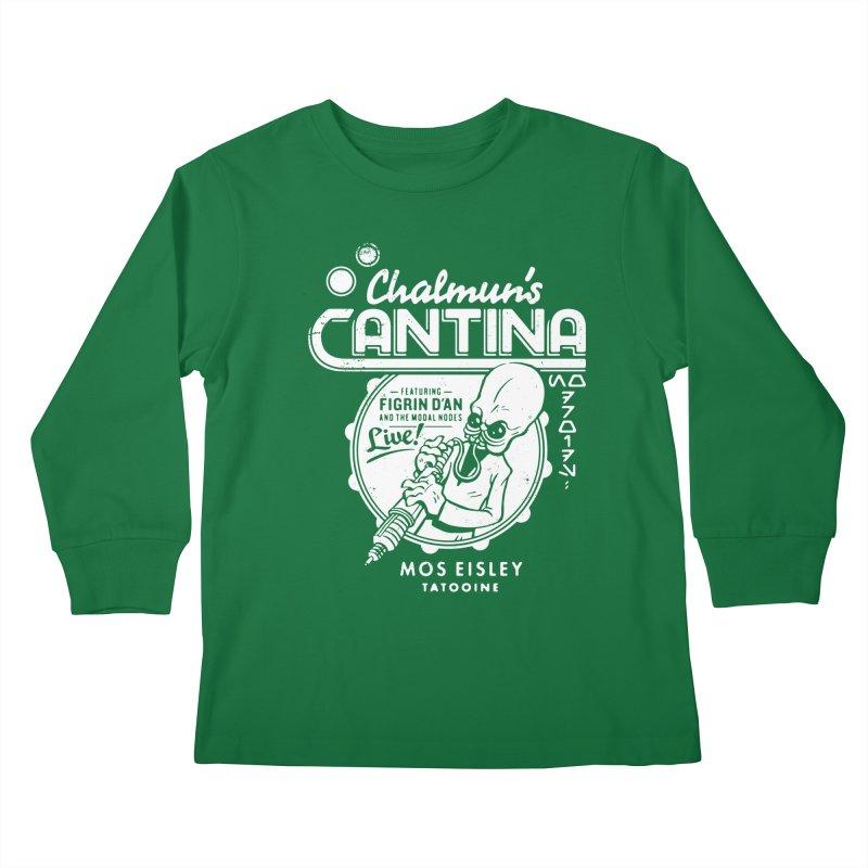 Chalmun's Cantina Kids Longsleeve T-Shirt by Spencer Fruhling's Artist Shop