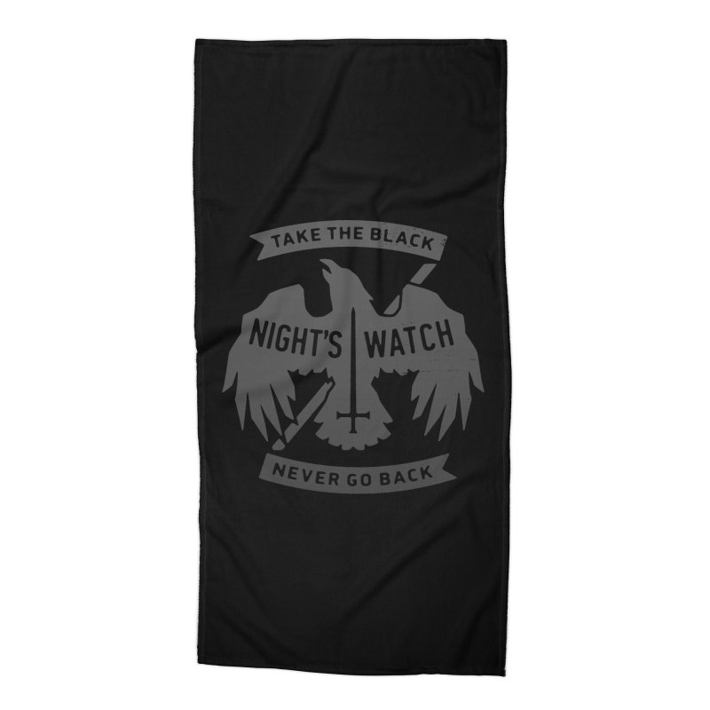 Take the Black Accessories Beach Towel by Spencer Fruhling's Artist Shop