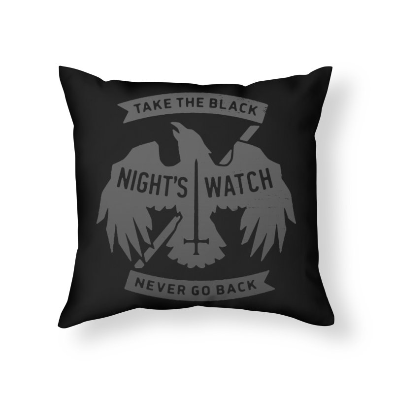 Take the Black Home Throw Pillow by Spencer Fruhling's Artist Shop
