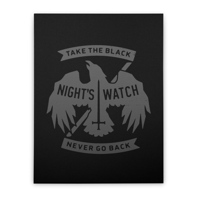 Take the Black Home Stretched Canvas by Spencer Fruhling's Artist Shop