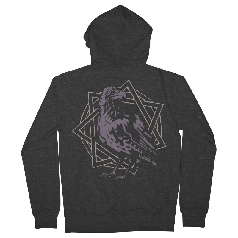 Three-Eyed Raven Women's Zip-Up Hoody by Spencer Fruhling's Artist Shop