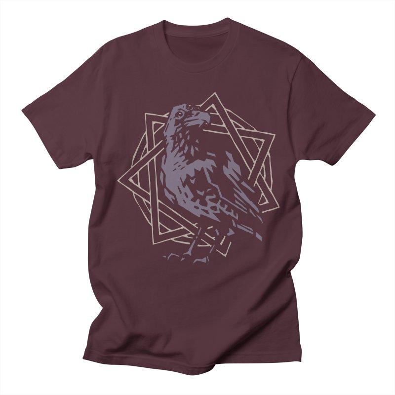 Three-Eyed Raven Men's T-shirt by Spencer Fruhling's Artist Shop