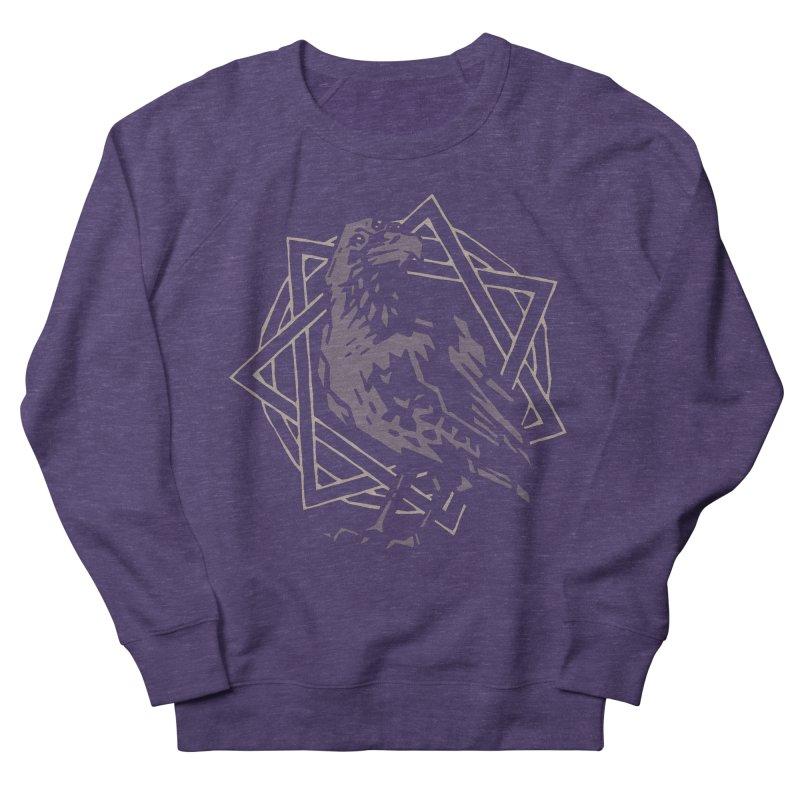 Three-Eyed Raven Men's Sweatshirt by Spencer Fruhling's Artist Shop
