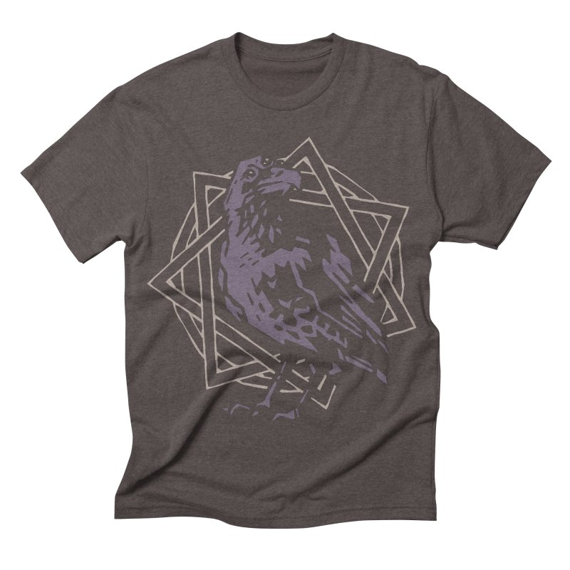 Three-Eyed Raven Men's Triblend T-shirt by Spencer Fruhling's Artist Shop