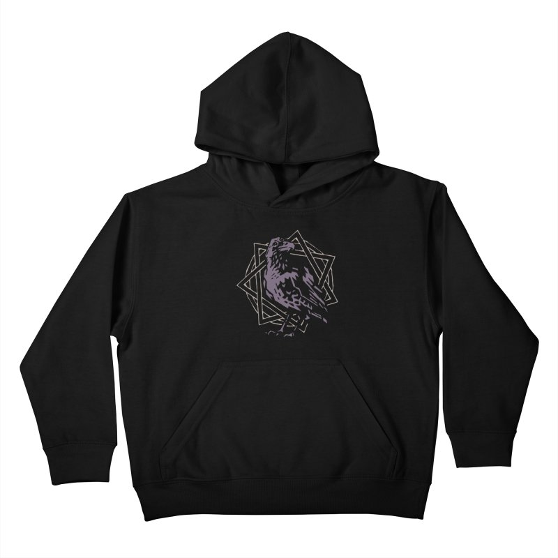 Three-Eyed Raven Kids Pullover Hoody by Spencer Fruhling's Artist Shop