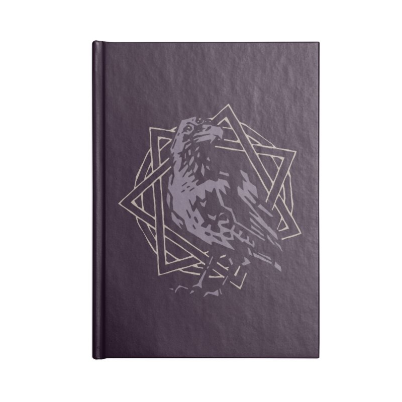 Three-Eyed Raven Accessories Notebook by Spencer Fruhling's Artist Shop