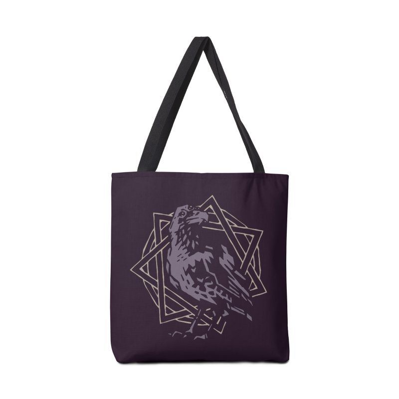 Three-Eyed Raven Accessories Bag by Spencer Fruhling's Artist Shop