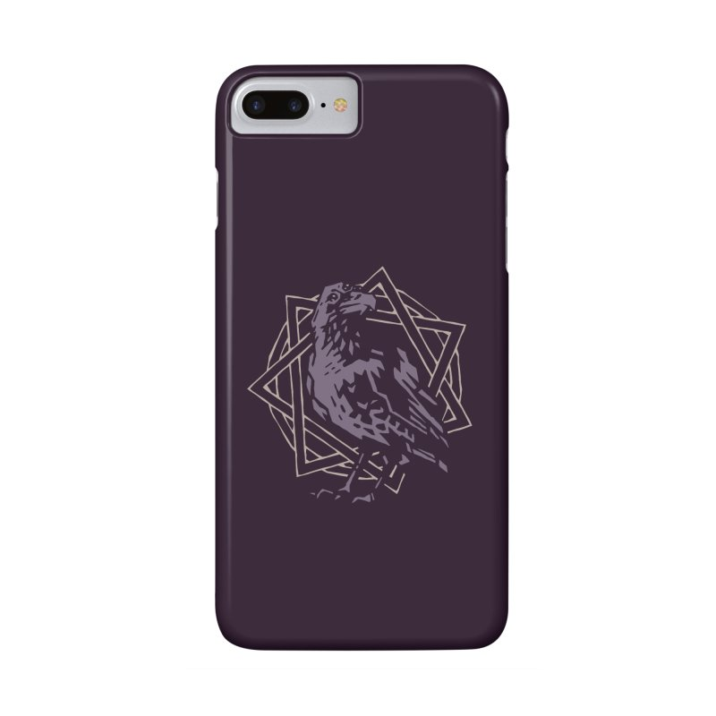 Three-Eyed Raven Accessories Phone Case by Spencer Fruhling's Artist Shop