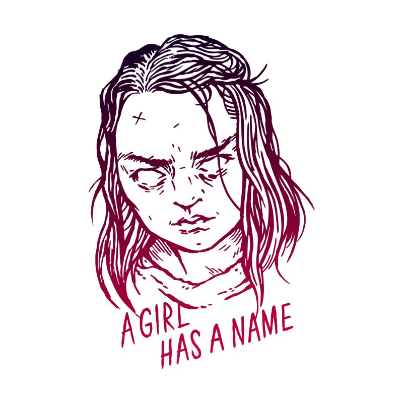 A Girl Has A Name by Spencer Fruhling's Artist Shop