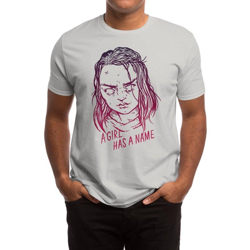A Girl Has A Name Men's T-Shirt by Spencer Fruhling's Artist Shop