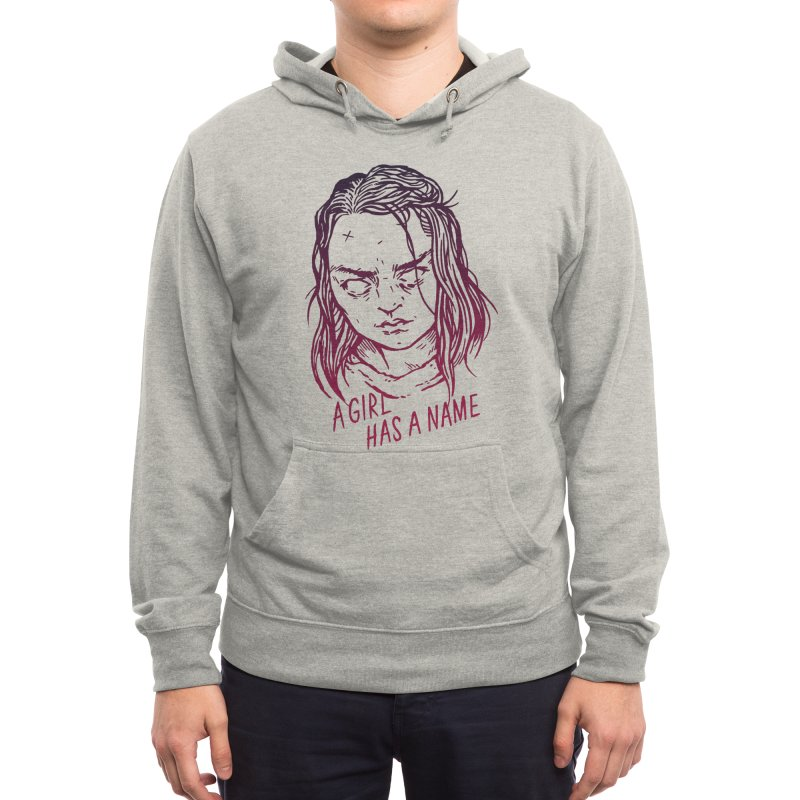 A Girl Has A Name Men's Pullover Hoody by Spencer Fruhling's Artist Shop
