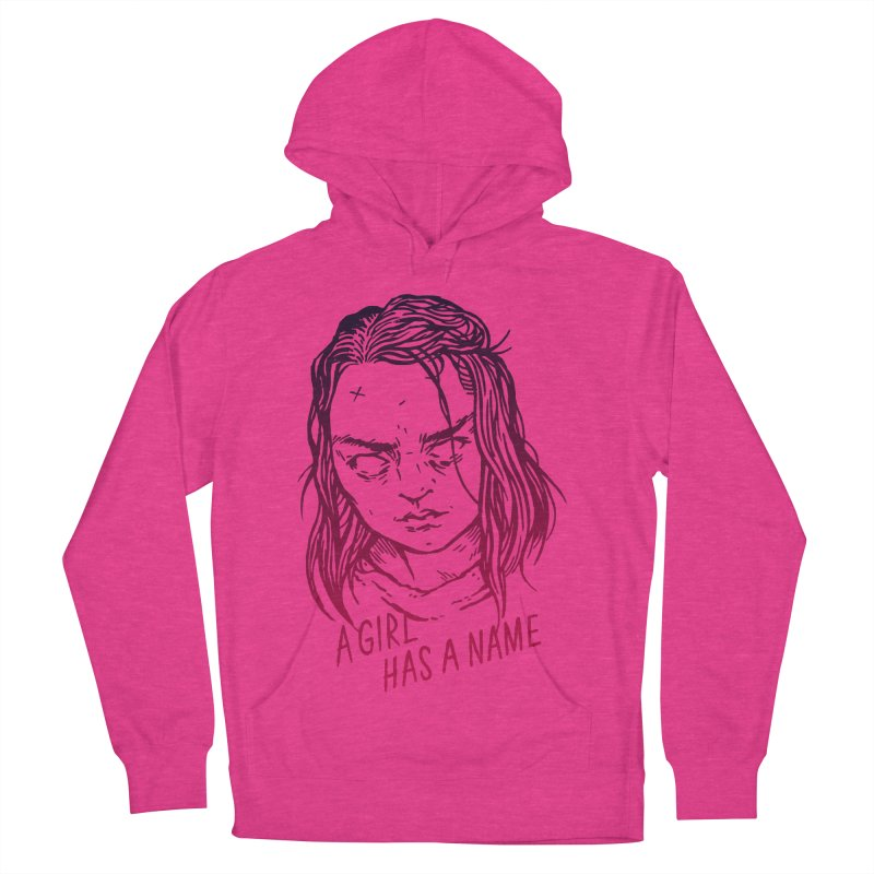 A Girl Has A Name Women's Pullover Hoody by Spencer Fruhling's Artist Shop