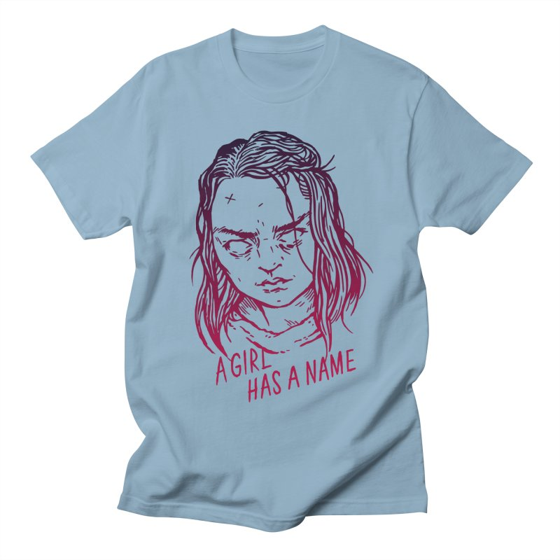 A Girl Has A Name Men's T-shirt by Spencer Fruhling's Artist Shop