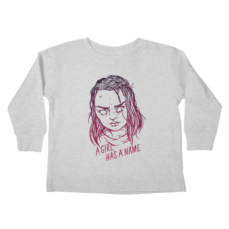 A Girl Has A Name Kids Toddler Longsleeve T-Shirt by Spencer Fruhling's Artist Shop