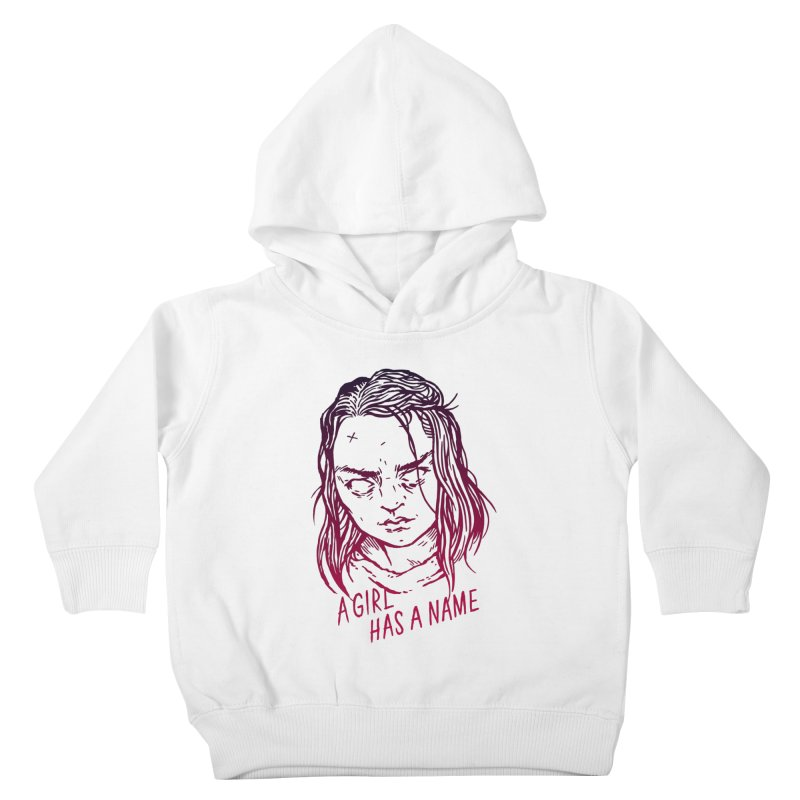 A Girl Has A Name Kids Toddler Pullover Hoody by Spencer Fruhling's Artist Shop