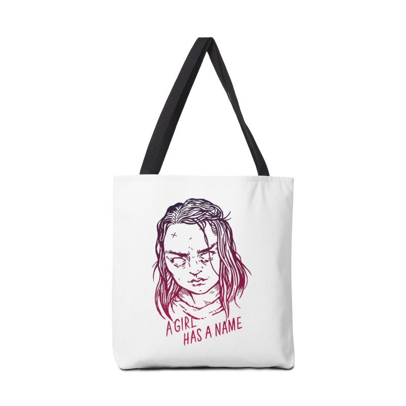 A Girl Has A Name Accessories Bag by Spencer Fruhling's Artist Shop