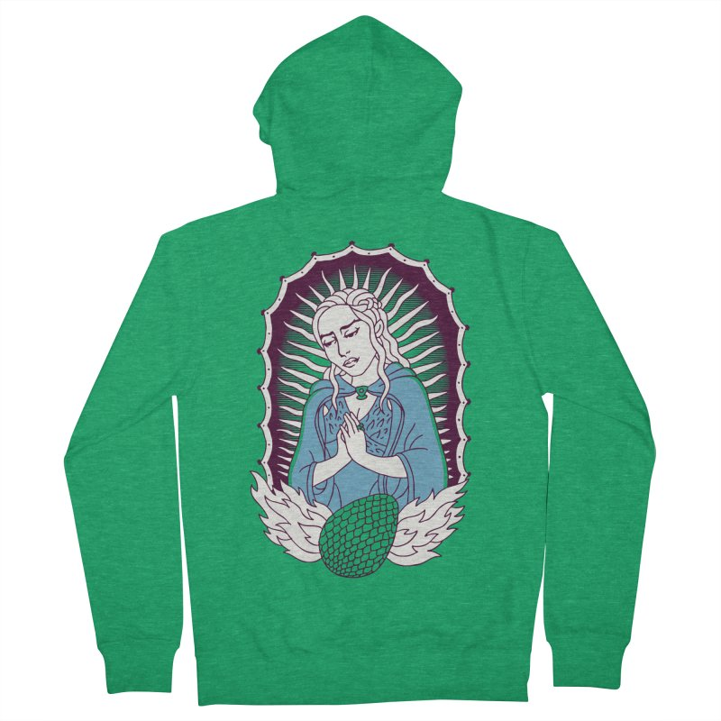 Mother of Dragons Men's Zip-Up Hoody by Spencer Fruhling's Artist Shop