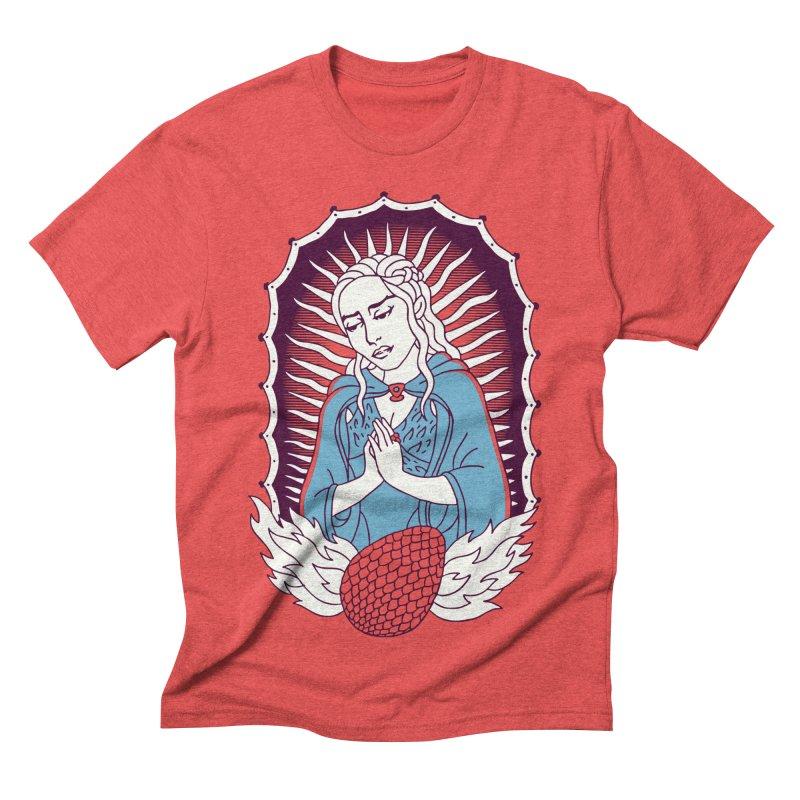 Mother of Dragons Men's Triblend T-shirt by Spencer Fruhling's Artist Shop