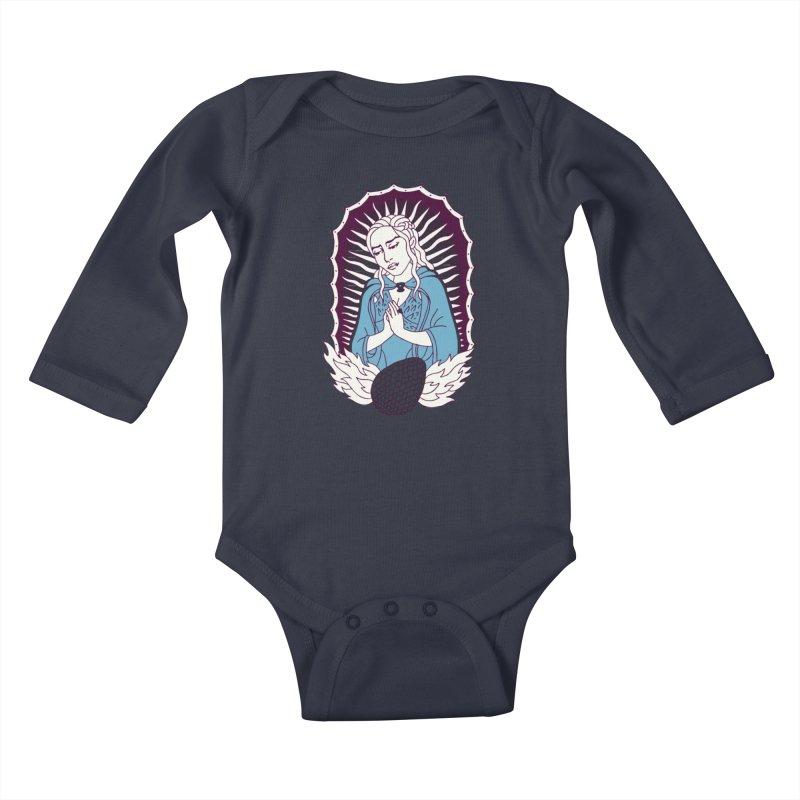 Mother of Dragons Kids Baby Longsleeve Bodysuit by Spencer Fruhling's Artist Shop