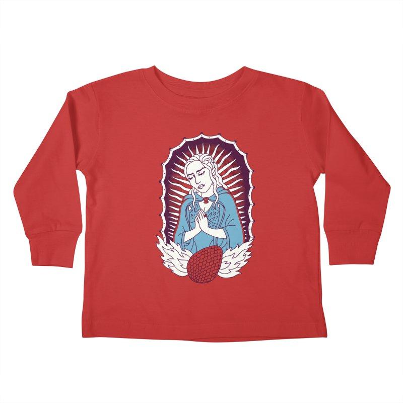 Mother of Dragons Kids Toddler Longsleeve T-Shirt by Spencer Fruhling's Artist Shop
