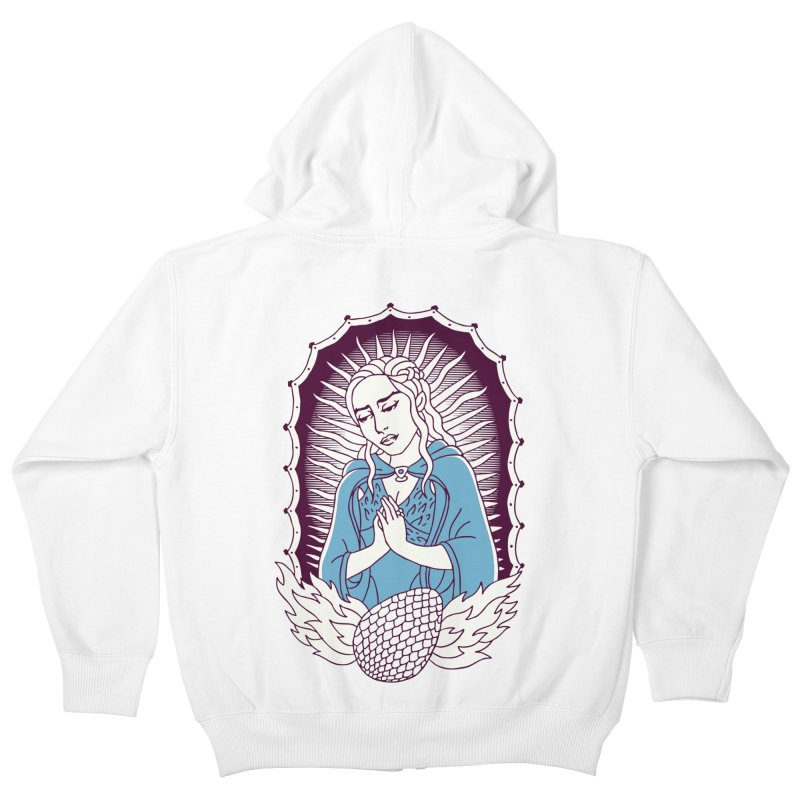 Mother of Dragons Kids Zip-Up Hoody by Spencer Fruhling's Artist Shop