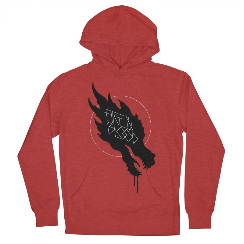 Fire & Blood Women's Pullover Hoody by Spencer Fruhling's Artist Shop