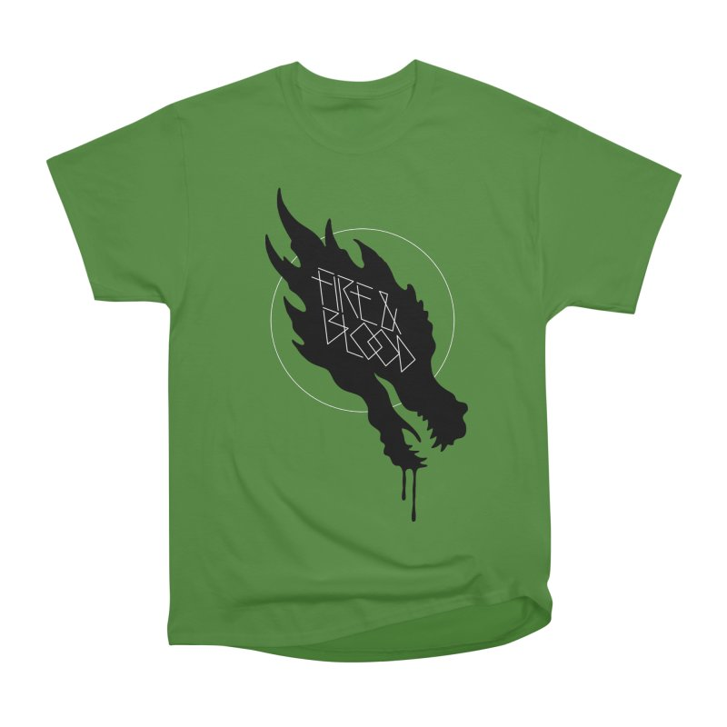 Fire & Blood Men's Classic T-Shirt by Spencer Fruhling's Artist Shop