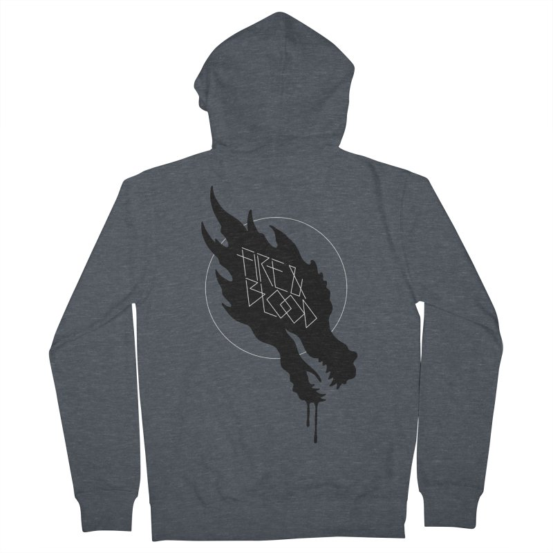 Fire & Blood Women's Zip-Up Hoody by Spencer Fruhling's Artist Shop