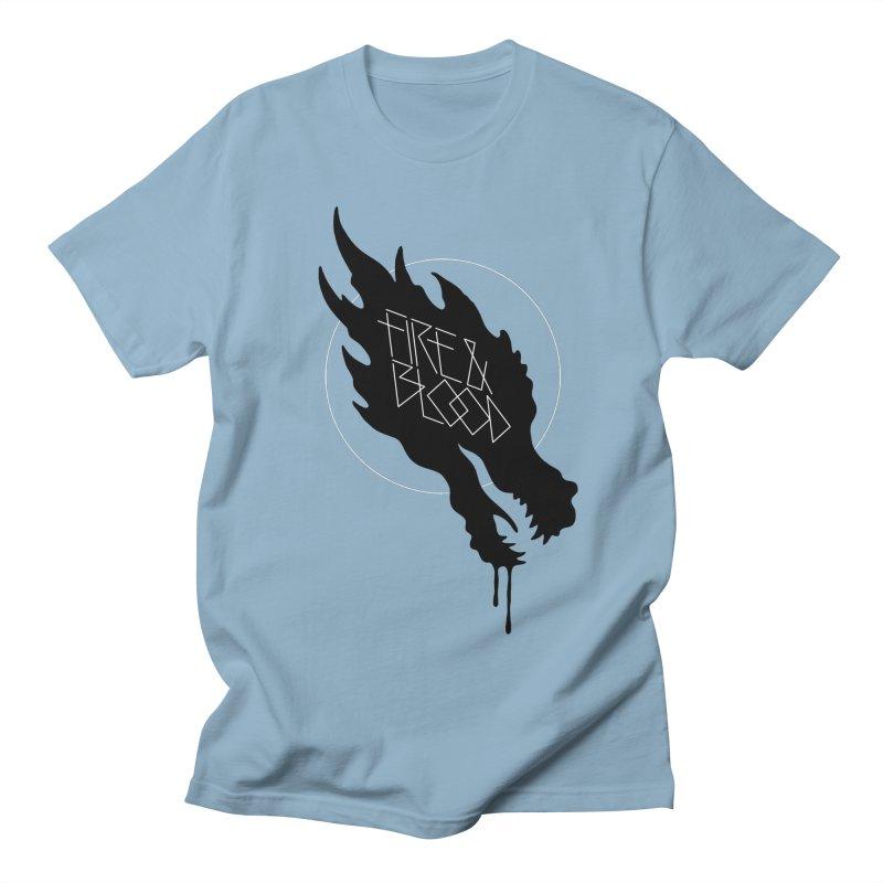Fire & Blood Women's Unisex T-Shirt by Spencer Fruhling's Artist Shop