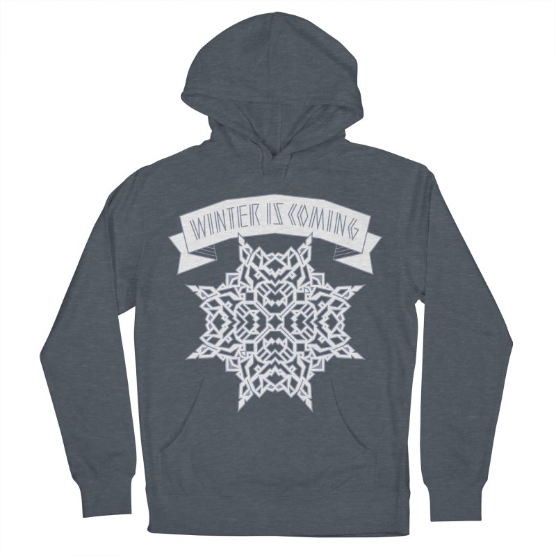 Winter Is Coming Men's Pullover Hoody by Spencer Fruhling's Artist Shop