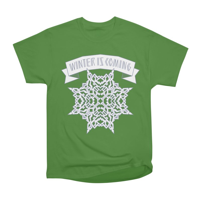 Winter Is Coming Men's Classic T-Shirt by Spencer Fruhling's Artist Shop