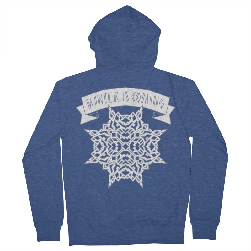Winter Is Coming Men's Zip-Up Hoody by Spencer Fruhling's Artist Shop