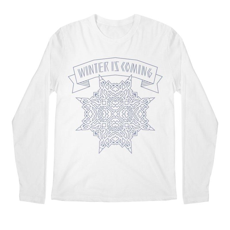 Winter Is Coming Men's Longsleeve T-Shirt by Spencer Fruhling's Artist Shop